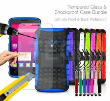 For Samsung Galaxy - Shockproof Hybrid Case Cover, Glass Protector & Ret Pen