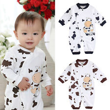 Newborn Baby Boy Girl Animal Bodysuit Outfit Costume Romper Clothes Set Cute USA