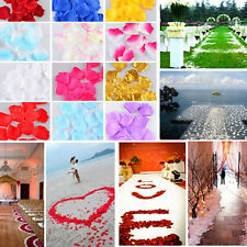 500pcs Roses Petals Wedding Flowers Petal Simulation Of Petals Hands And Flowers