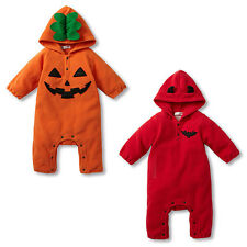 Infant Baby Romper Bodysuit Newborn Hooded Jumpsuit Outfits Halloween Gifts New