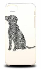 COOL NEW TYPOGRAPHY DOG HARD CASE COVER FOR APPLE iPHONE 7