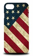UNITED STATES OF AMERICA USA FLAG HARD CASE COVER FOR APPLE iPHONE 7
