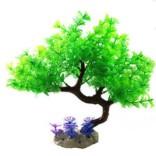 "9.8"" Large Aquarium Artificial Plastic Tree Plant Fish Tank Decoration Ornament"