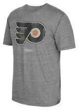 "Philadelphia Flyers CCM ""Retro Logo"" Distressed Premium Tri-Blend Gray T-Shirt"