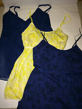 NWT AMERICAN EAGLE AE Cami Top Spaghetti Straps 2 S M Tie-Back Party Floral Tank