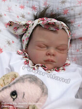 """20"""" UNPAINTED REBORN DOLL KIT, WITH OR WITHOUT DOE SUEDE BODY- """"ROSE"""""""