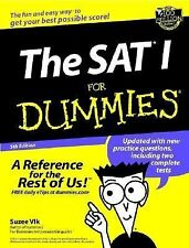 The SAT I for Dummies by Suzee Vlk (2002, Paperback)