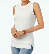 Tommy Hilfiger Women's Cecil Sleeveless Cotton Sweater - Choose your size