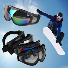 Snow Skiing Snowmobile Snowboard Goggles Windproof Anti-Fog Sports UV Sunglasses