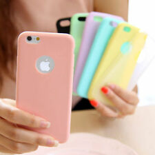 Ultra Slim Cute Soft Silicone TPU Back Case Cover Skin Fr Apple iPhone 6 6S 4.7""