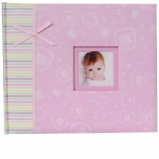 Claire Baby Pink 6x4 Photo Album 200 Photos Overall Size 8.5x10.25