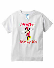 Minnie mouse Mouse,Birthday Gilr Toddler T-shirt,Youth T-shirt Kids,Birthday