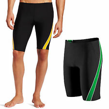 Speedo Men's Endurance+ Mercury Splice Swimsuit Trunk Jammer 8051224 Sz 22-28