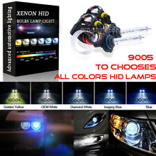 55W HID Headlight Replacement Bulbs Xenon Light 9006 Low Beam 9005 H10 High Beam