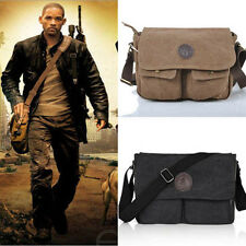 Vintage Men's Canvas Messenger Shoulder Bag Military Crossbody Bags Satchel New