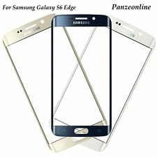 Front Outer Screen Glass Lens Part Replacement For Samsung Galaxy S6 Edge AT&T