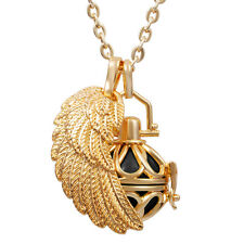 Harmony Ball Maternity Pendant Wing Cage Locket Mexican Bola Women Baby Necklace