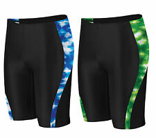 Speedo Men's Boy's Twilight Night Spliced Swimsuit Trunk Jammer 8051360 Sz 22-36