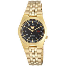 Seiko Analog Casual Mens 5 Automatic  Gold JAPAN Watch SNKE36J1