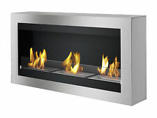 Ignis Ventless Ethanol Fireplace - Magnum with Optional Safety Glass