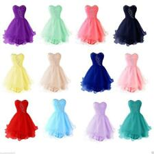 Short Strapless Homecoming Dresses Cocktail Prom Party Dress Beads Evening Gowns