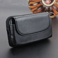 Genuine Real Leather Waist Belt Clip Pouch Bag Case Cover For iPhone 6 6S Plus