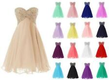 Plus Size Short Sweetheart Prom Evening Homecoming Party Bridesmaid Dress Z745