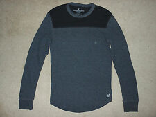 MENS SIZE SMALL AE AMERICAN EAGLE OUTFITTERS THERMAL LONG SLEEVE SHIRT NWT