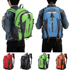 Outdoor Hiking Camping Travel Waterproof Backpack Pack Mountaineering Bag New US