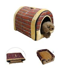 Dog Pet Bed House Cat Basket Cotton Mat Puppy Cushion Doggy Soft Kennel Dog Bed
