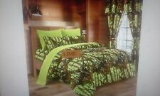 7 piece comforter and sheet set ,THE WOODS  king, queen,full, twin, 11 colors