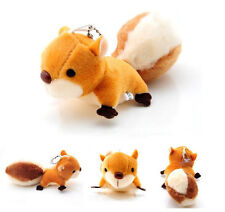 Pendant Ornaments Pendant Doll Stuffed Toy Plush Toy Toy Squirrel Handbag New