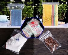 Ziplock & Self Adhesive Reclosable Clear Plastic Bags For Beads Plastic Baggies
