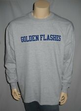Kent State University T Shirt Golden Flashes NCAA  Long Sleeve Gray