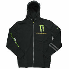 NEW Pro Circuit MX Monster Energy Blaze Moto Mens Black Motocross Zip Hoodie
