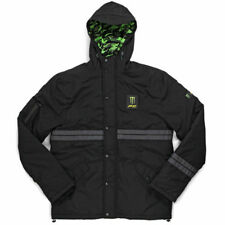 NEW Pro Circuit MX Monster Energy Parka Black Camo Poly Motocross Mens Jacket