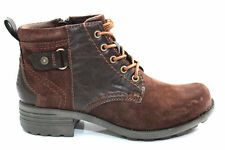 Earth Spirit Pasadena 2 Womens Leather Suede Ankle Boots Size UK 3-8