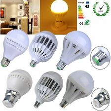 9/12/15/20/30/36W LED E27/B22 Energy Saving Warm White Light Bulb Lamp 110V-220V