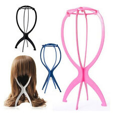 New Folding Plastic Stable Durable Wig Hair Hat Cap Holder Stand Display Tool JB