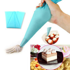 3Size Silicone Reusable Icing Piping Cream Pastry Bags DIY Cake Decorating Tools