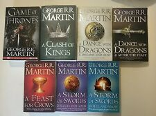 GAME OF THRONES COMPLETE BOOK SET George R.R.Martin