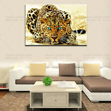 HD Canvas Print Modern Abstract Art Home Decor Wall Art Picture-Animal Leopard