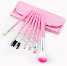 7pcs Cosmetic Tools Set Make-up Brushes with Bag Eyeshadow Mascara Brush