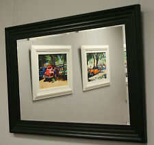 Stunning Black Style Framed Mirror For A Fantastic Price (POL2016)