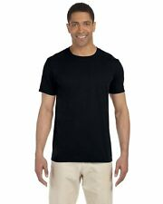 Gildan Mens Softstyle 100% Cotton Wholesale Pack Bulk Lot Basic Tee Shirt. G640