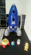 ELC happyland rocket/space ship with figures