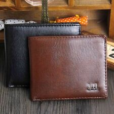 Men Bifold Business Leather Wallet ID Credit Card Holder Purse Pockets fad new T