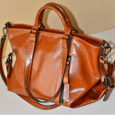 New Handbag Lady Shoulder Bag CrossBody Tote Purses Oiled Leather Women Messenge