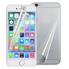 Front HD Clear Screen Protector + Back Film Cover Skin For Apple iPhone 7 / Plus