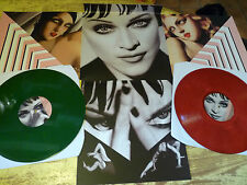 MADONNA KISSES FROM HELL 2 LP COLLECTOR  COLOR  DISCC    RARES LIVES SHOWS